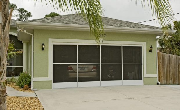 garage door enclosures